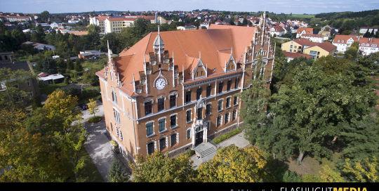 Luftaufnahmen - Stadt Grimma - Schulen - Berufsschulzentrum