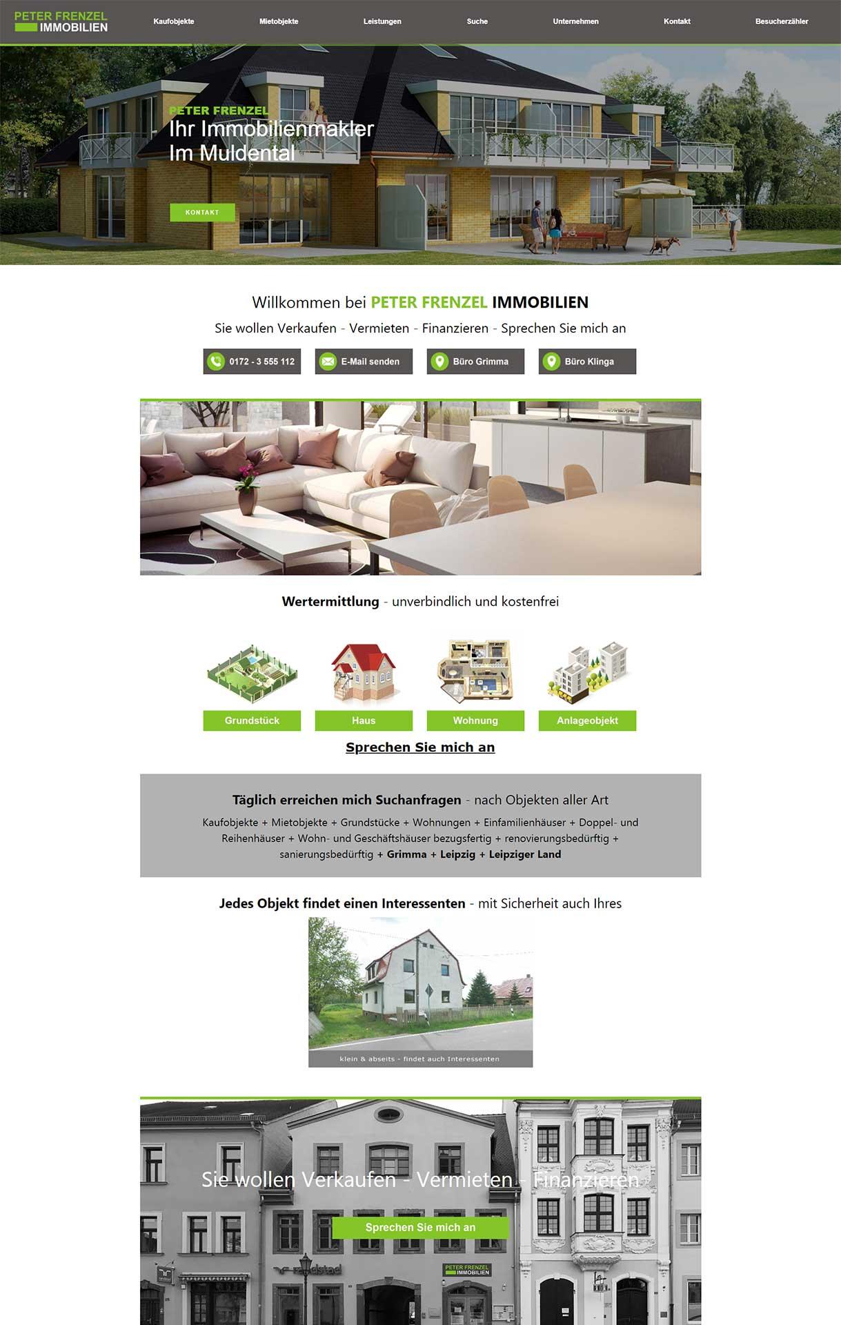 webdesign-flashlightmedia-werbeagentur-leipzig-grimma-startseite-pf-immobilien-webseite