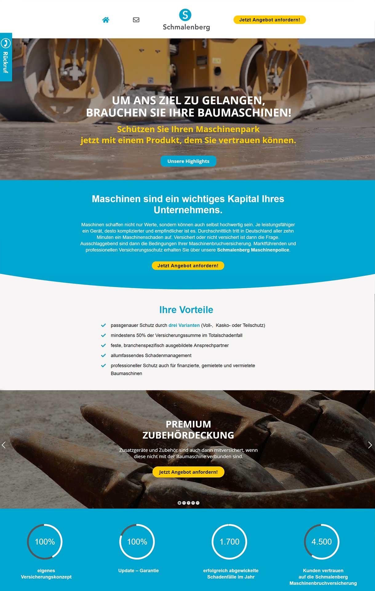 webdesign-flashlightmedia-werbeagentur-leipzig-grimma-startseite-baumaschine-versichern-webseite