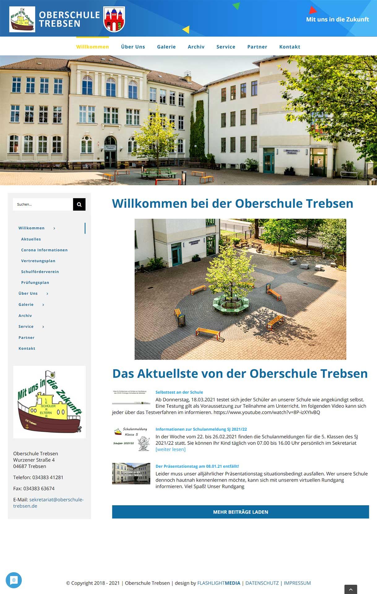 webdesign-flashlightmedia-werbeagentur-leipzig-grimma-startseite-oberschule-trebsen-webseite